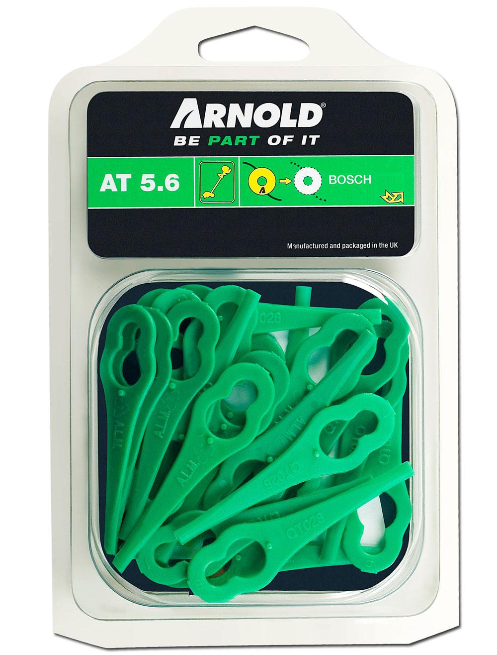 Arnold Ersatzmesser fü Bosch Rasentrimmer ART23 / ART23Li / AR T23 Bild 1