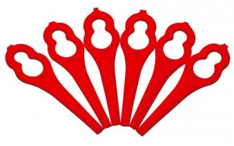 Bosch Sicherheits-Kunststoffmesser 24 Stk für Akku-Rasentrimmer ART 26 Bild 1