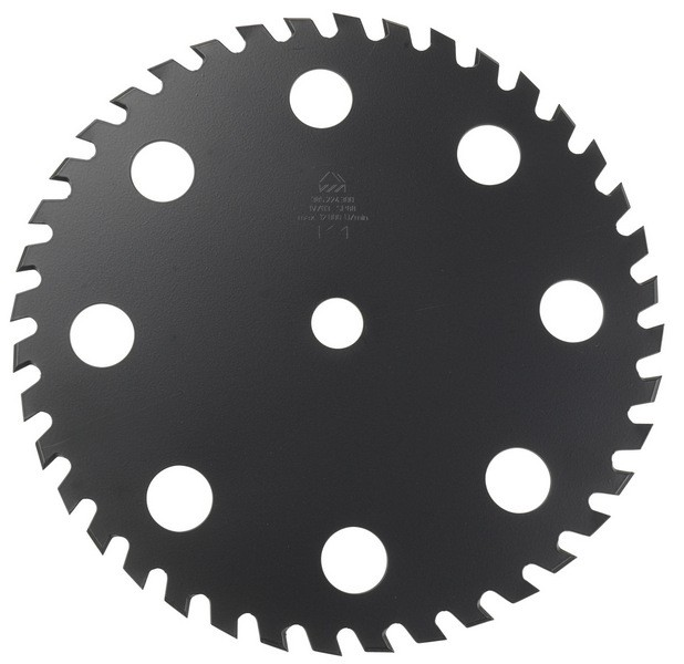 Steinschlagarmes Messer Ø 225x25,4mm für Dolmar Motorsense Bild 1