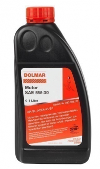 Dolmar Motoröl SAE 5W-30 / 4-Takt-Motoröl 1 Liter