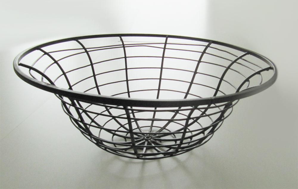 gartendeko schale feuerkorb metall dunkelbraun 76cm bei. Black Bedroom Furniture Sets. Home Design Ideas