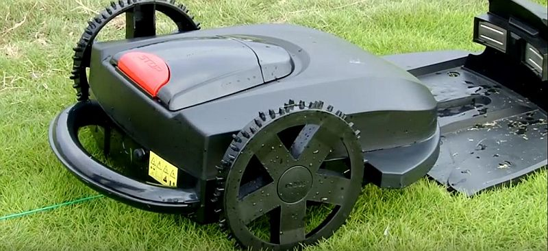 B-Ware Mähroboter RoboGoat 5010 24 V / 8 Ah Schnittbreite 32cm Bild 5