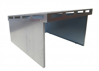 Mähroboter Garage Bio I ediGarden Stahl silber 62x77x44cm