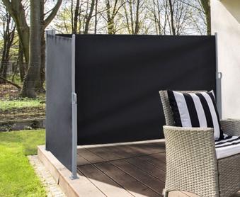 B-Ware Sichtschutz / Windschutz zweiseitig 2x 300 x 160 cm anthrazit Bild 1