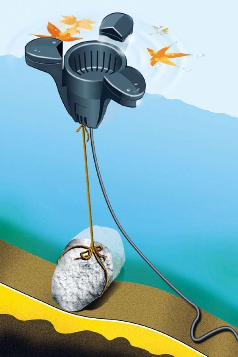 B-Ware Teichskimmer Heissner Oberflächenreiniger schwimmend F540-00 Bild 2