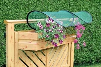 Balkonblumenschutz Pflanzenschutz Bild 1