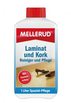 MELLERUD Laminat und Kork Reiniger und Pflege 1,0 Liter Bild 1