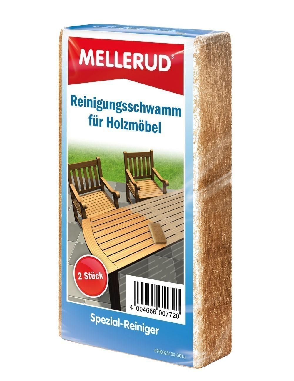 MELLERUD Reinigungsschwamm Holzmöbel 2 Stück Bild 1
