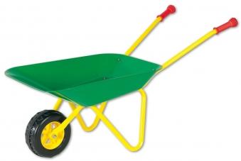 Metallschubkarre / Schubkarre gelb / grün - Rolly Toys Bild 1