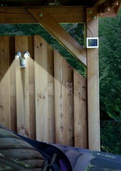 Solar-LED Spot GEV LPL 841 mit Bewegungsmelder weiss Bild 2