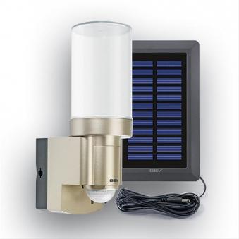 Solar-Leuchte GEV LPL 14831 mit Bewegungsmelder und Alarm champanger Bild 1