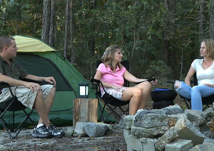ThermaCell Camping Laterne mit Insektenschutz und Kippschalter Bild 3