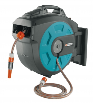GARDENA Wand-Schlauchbox 25 roll-up automatic 08023-20 Bild 1