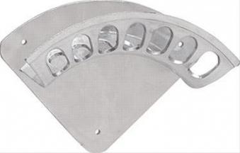 Wandschlauchhalter Alu Gr.4, B417mmxT187 mm Bild 1