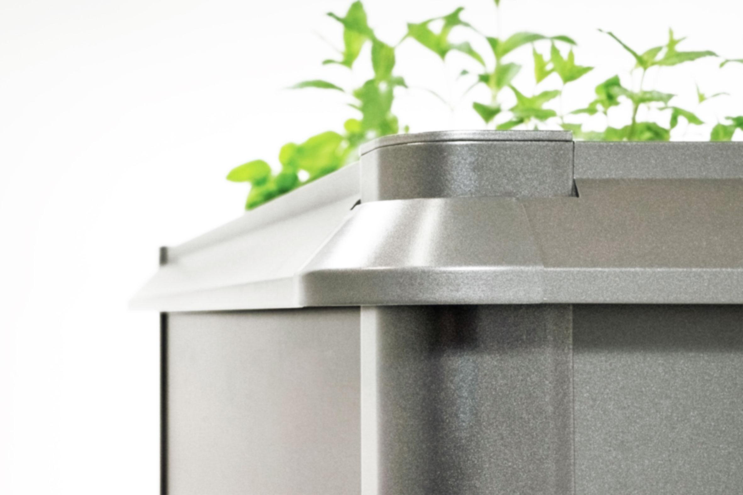Schneckenschutz für Biohort Hochbeet 2x1 quarzgrau-metallic Bild 1