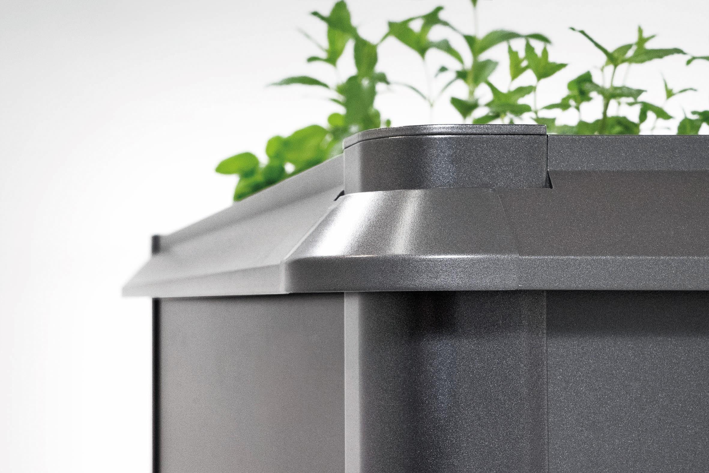 Schneckenschutz für Biohort Hochbeet 2x2 dunkelgrau-metallic Bild 1