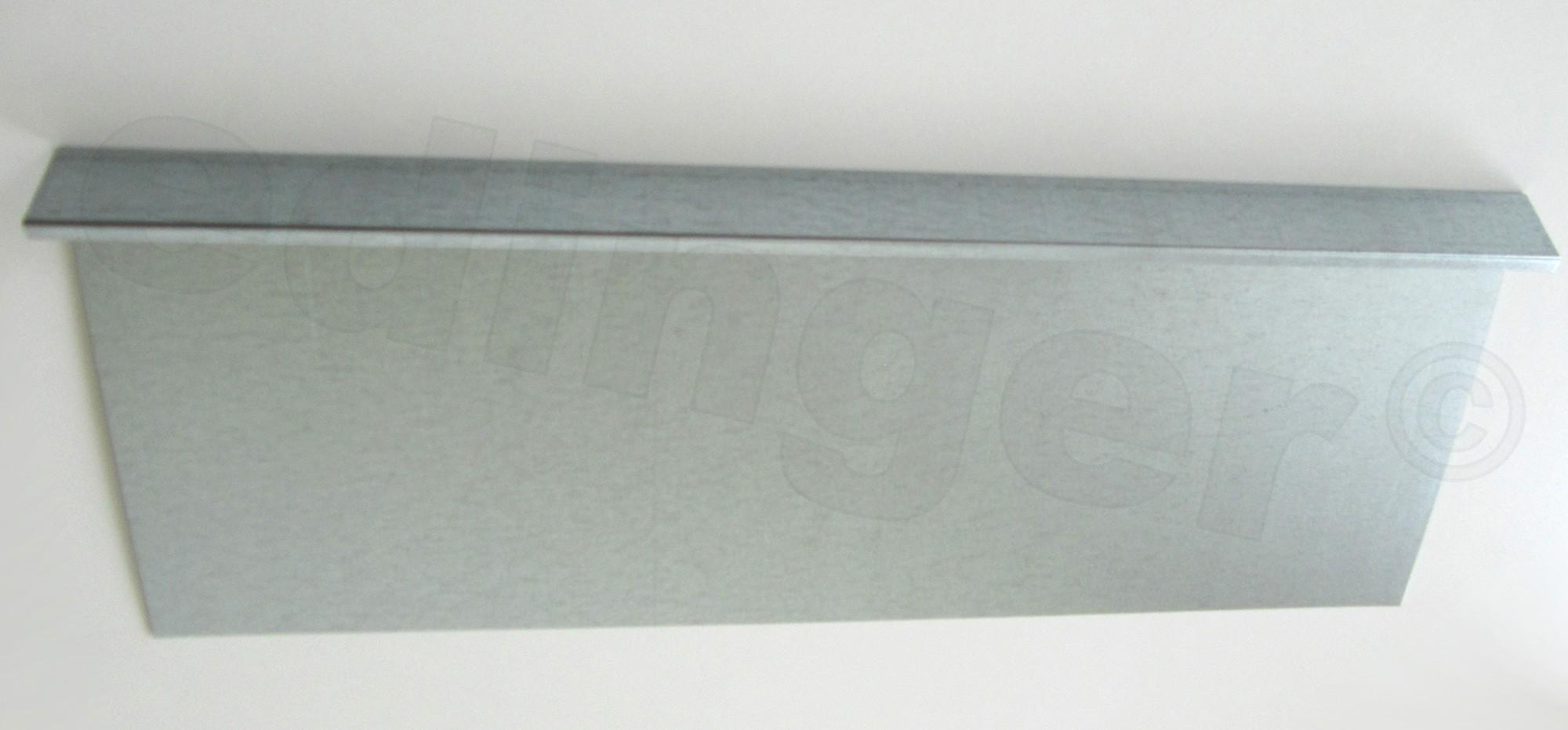 Schneckenzaun / Schneckenblech Metall 100x20cm Bild 1