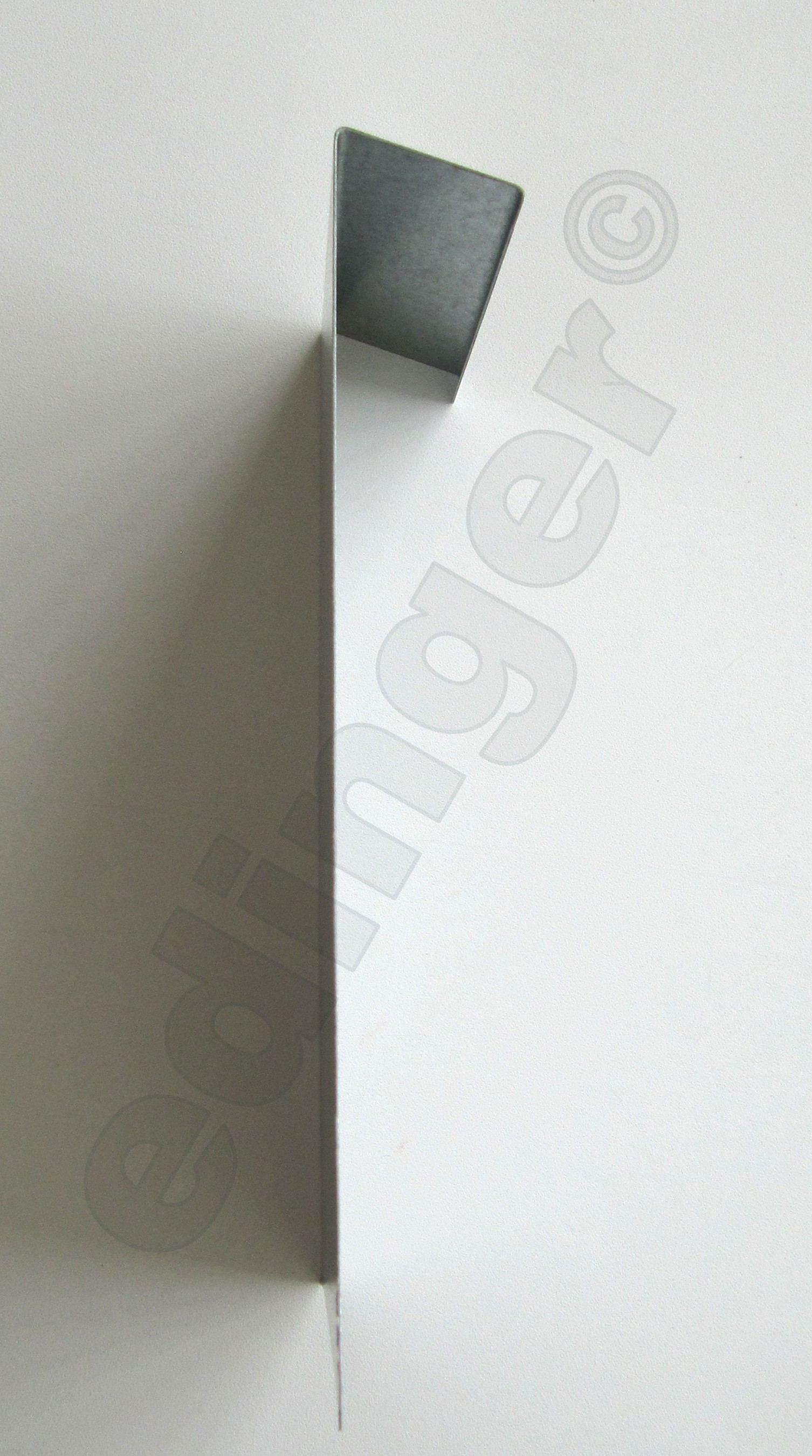 Schneckenzaun / Schneckenblech Metall 50x20cm Bild 2