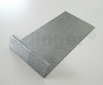 Schneckenzaun / Schneckenblech Metall Verbinder