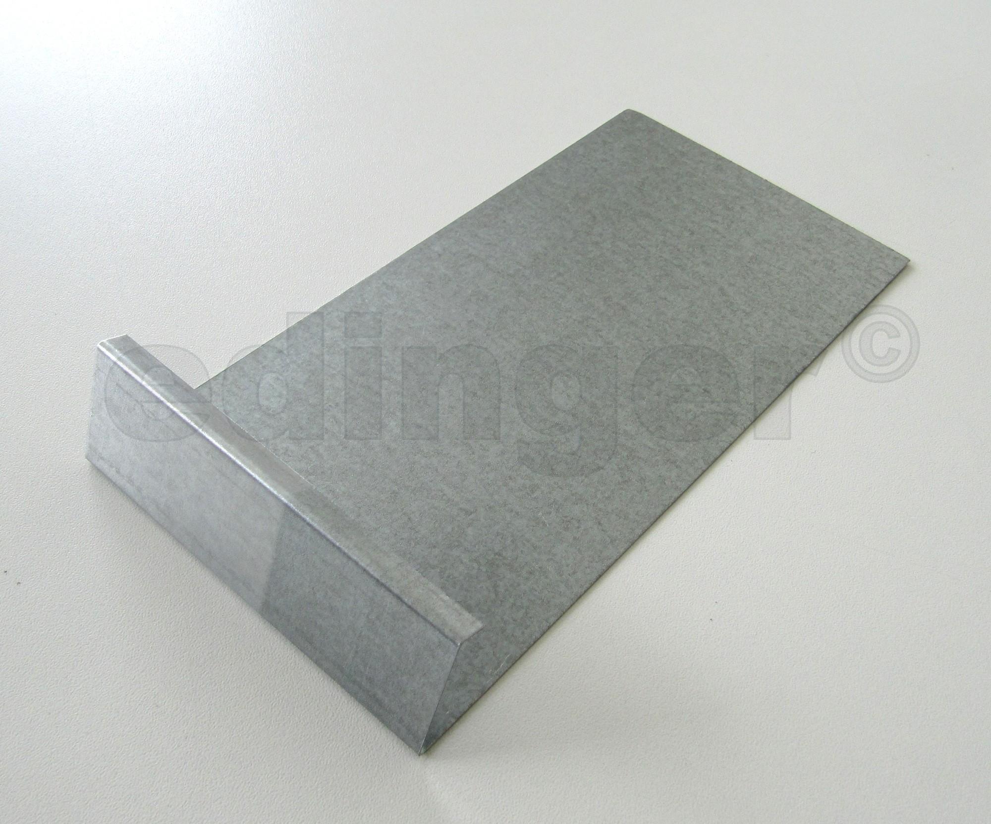 Schneckenzaun / Schneckenblech Metall Verbinder Bild 1