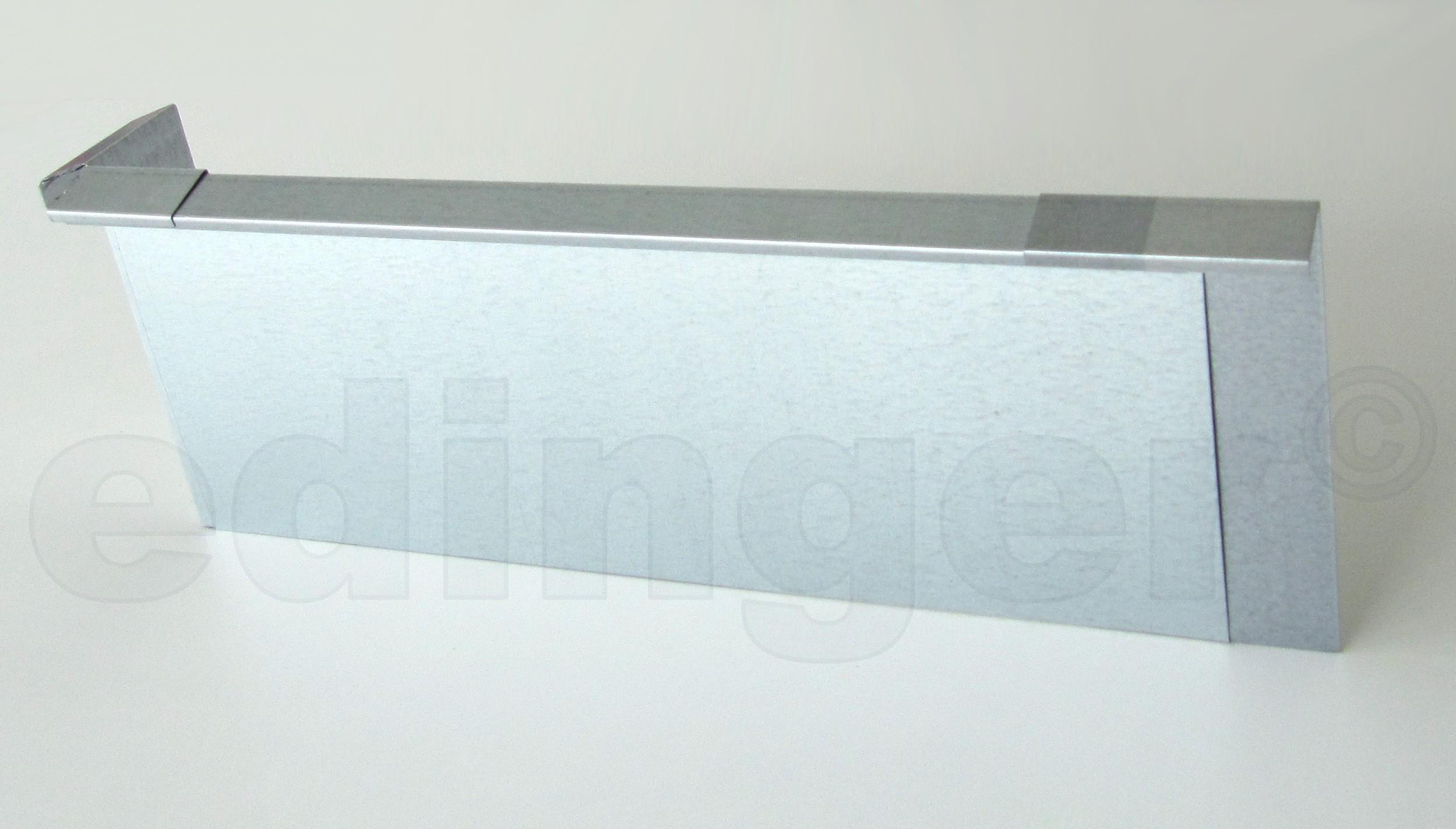 Schneckenzaun / Schneckenblech Metall Verbinder Bild 2