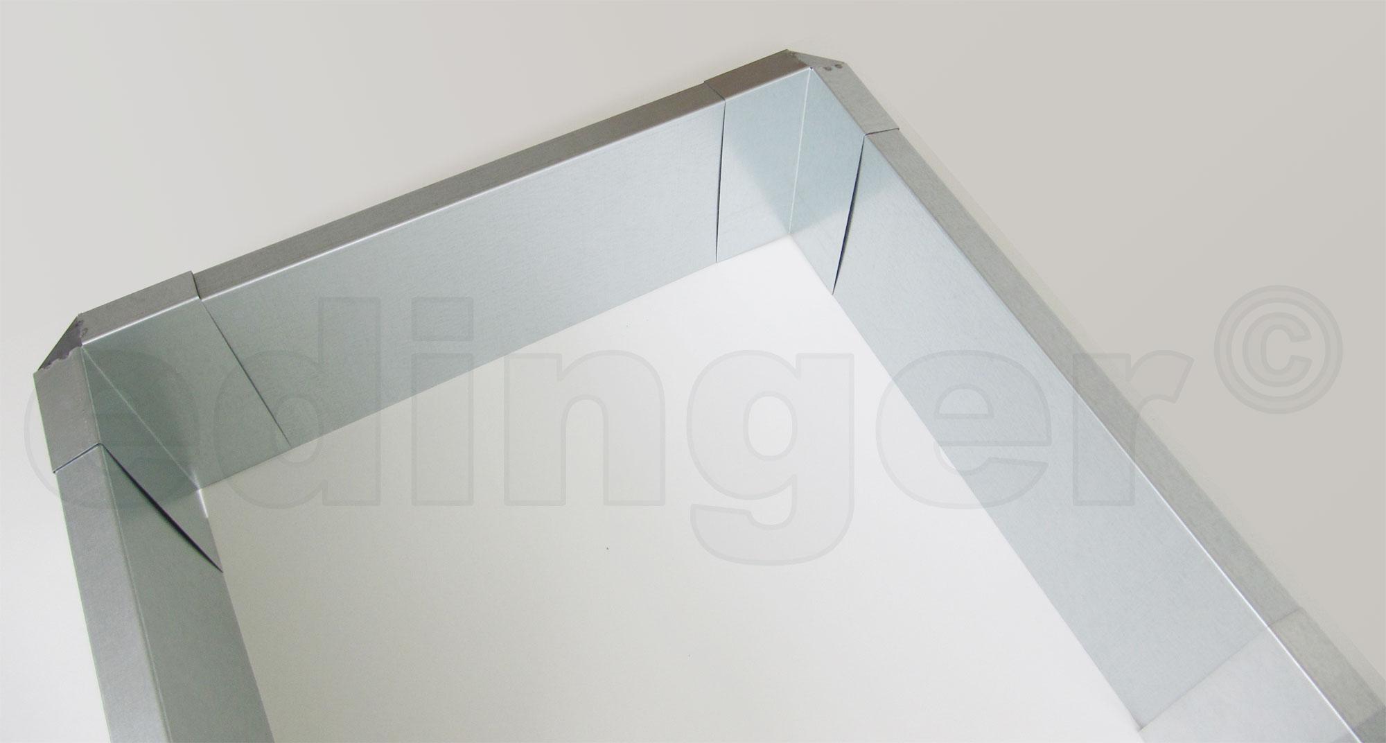 Schneckenzaun / Schneckenblech Metall für 6 m² Set Bild 1