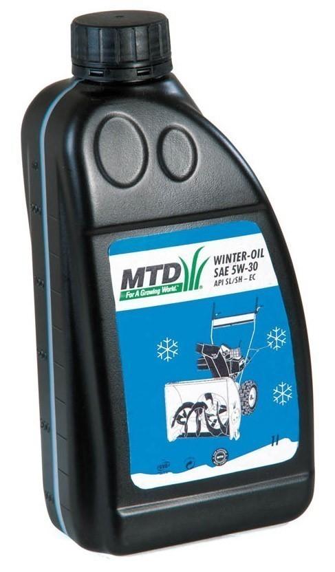Arnold Wintermotoröl SAE 5W-30 1 Liter für Schneefräsen Bild 1