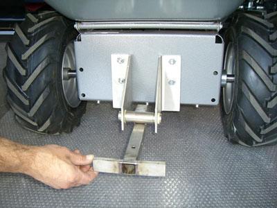 Powerpac Adapterplatte für Multi-Caddy elektro MCE400 Bild 1