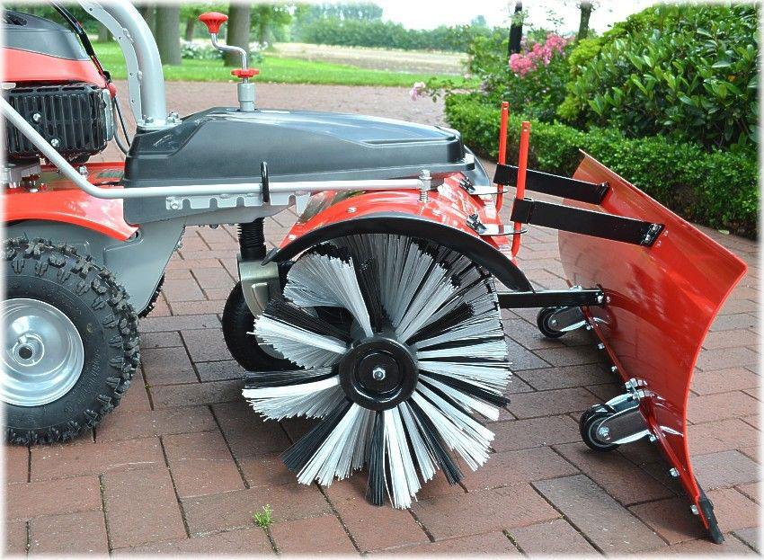 Powerpac Einachser Kehrmaschine Schneeschieber Komplettset MK100 Bild 2