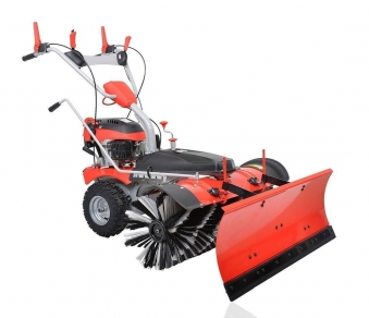 Powerpac Einachser Kehrmaschine Schneeschieber Komplettset MK100 Bild 1