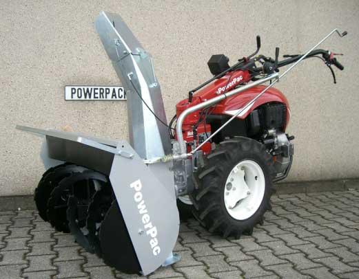 Powerpac Schneefräse Einachser MAK17 Breite 80cm Bild 2