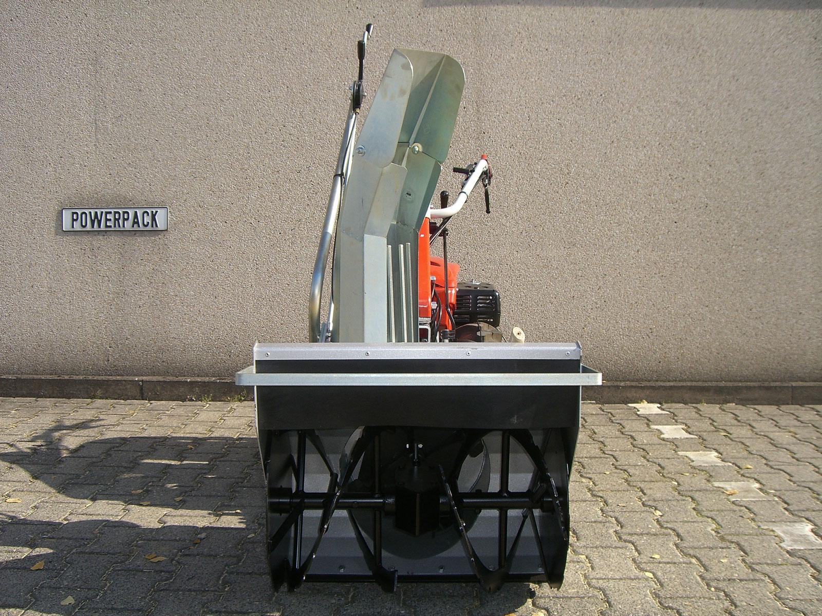 Powerpac Schneefräse doppelstufig für Einachser KAM5 Breite 60cm Bild 3