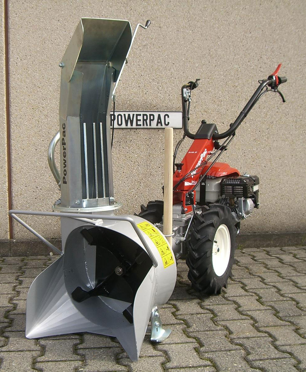 Powerpac Schneefräse für MF3 Einachser Basismodul Bild 2