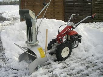 Powerpac Schneefräse für MF3 Einachser Basismodul Bild 3