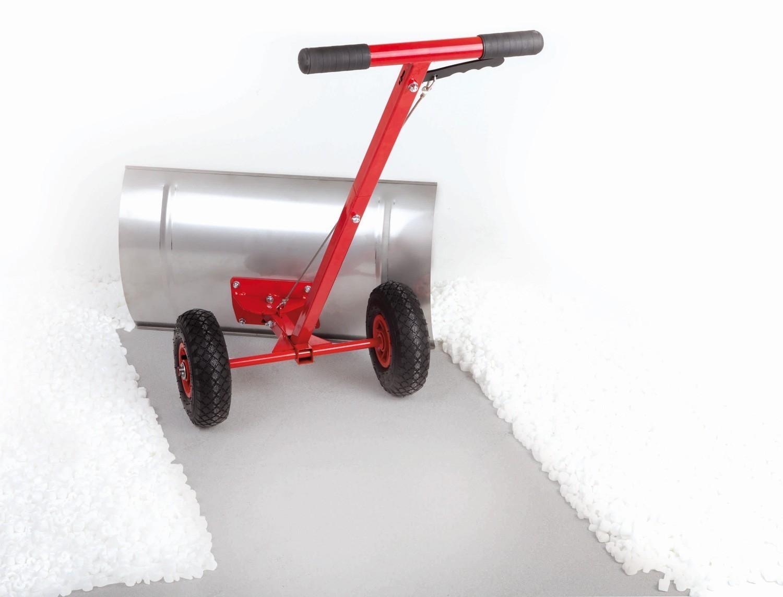 Powerpac Schneeschieber / Schneeräumer mit Reifen 74cm Bild 1
