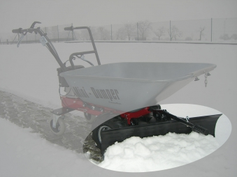 Powerpac Schneeschild 85cm für Multi-Dumper MC140 Bild 1