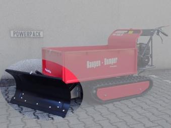 Powerpac Schneeschild 85cm für Raupendumper RD500R Bild 1