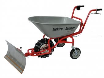 Powerpac Schneeschild / Schneeräumer für Elektro-Dumper ED120 Bild 3