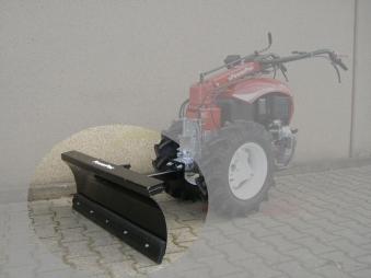 Powerpac Schneeschild als Schneeschieber Einachser MAK17 100cm Bild 1