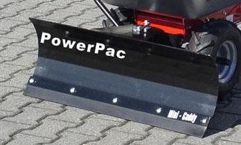 Powerpac Schneeschild als Schneeschieber für MC140 und MK85 Bild 1