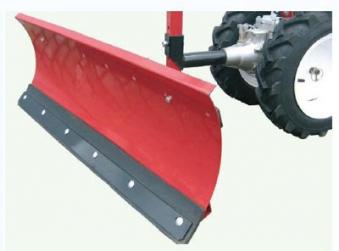 Powerpac Schneeschild als Schneeschieber für MF3 Einachser Basismodul Bild 1