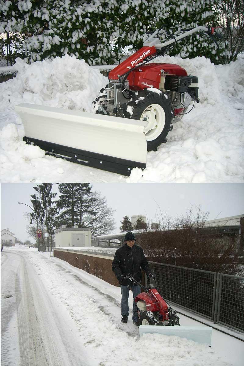 Powerpac Schneeschild für Einachser KAM5 Breite 100cm Bild 2