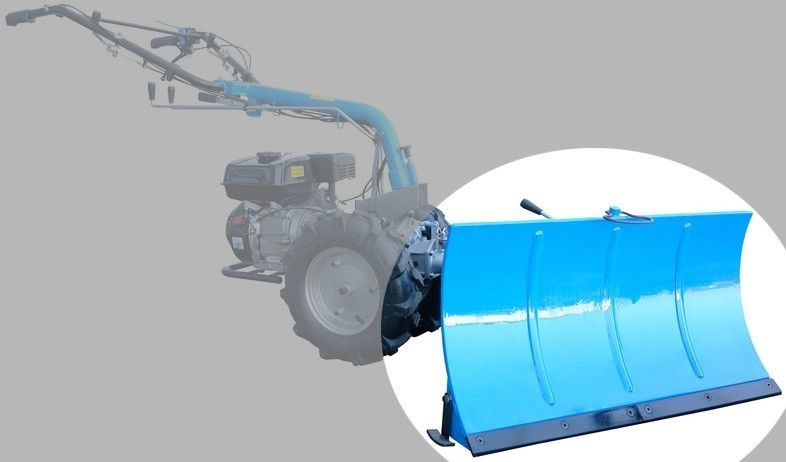 Schneeschild GSS 850 Anbaugerät für Güde Motoreinachser GME 6,5 PS Bild 3