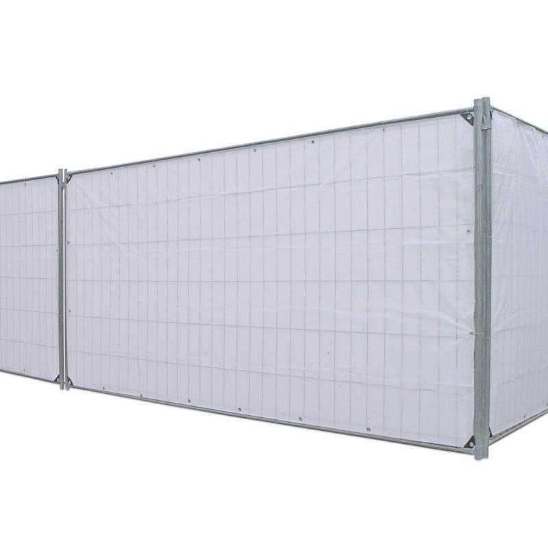 sichtschutzplane bauzaunplane profi noor 176x341cm 140g. Black Bedroom Furniture Sets. Home Design Ideas