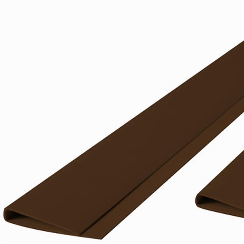 Abdeckprofil maxi für PVC Sichtschutzmatten Noor 4,5x200cm braun Bild 1