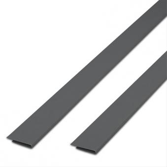 Abdeckprofil maxi für PVC Sichtschutzmatten Noor 4,5x200cm silber Bild 1