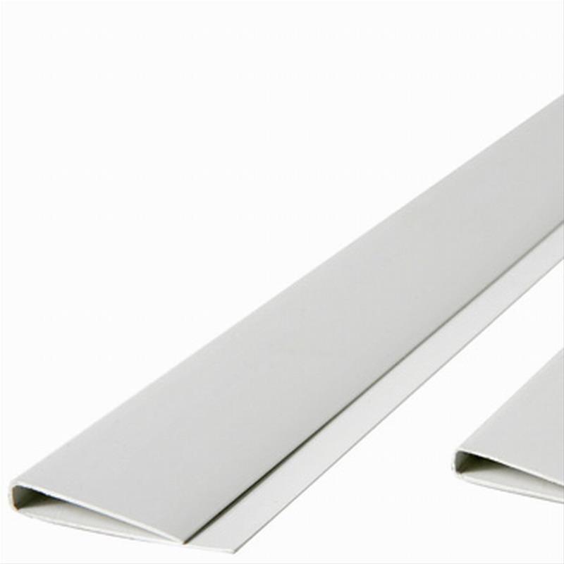 Abdeckprofil maxi für PVC Sichtschutzmatten Noor 4,5x200cm weiß Bild 1