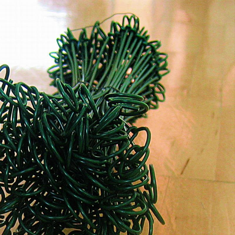 Bindedraht Noor ummantelt 100 Stück grün Bild 1