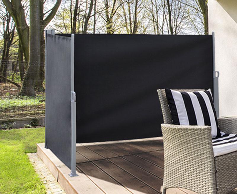 Sichtschutz / Windschutz zweiseitig 2x 300 x 160 cm anthrazit Bild 1