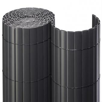 Sichtschutzmatte PVC Noor 0,9x3m anthrazit Bild 1